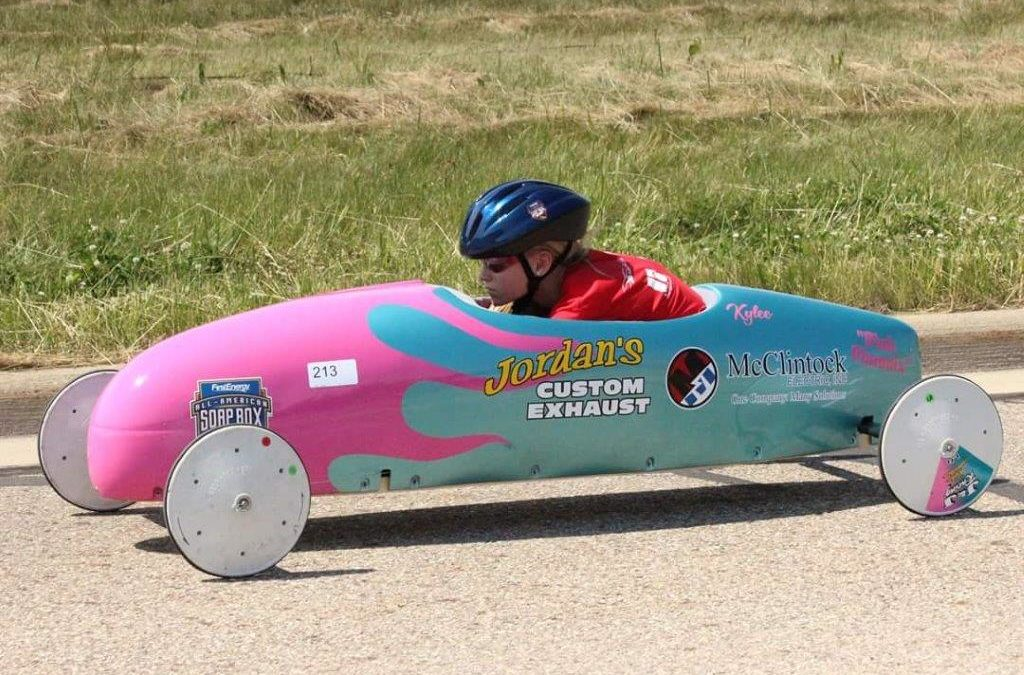 McClintock Electric Sponsors Soap Box Derby Racer Kylee Jordan